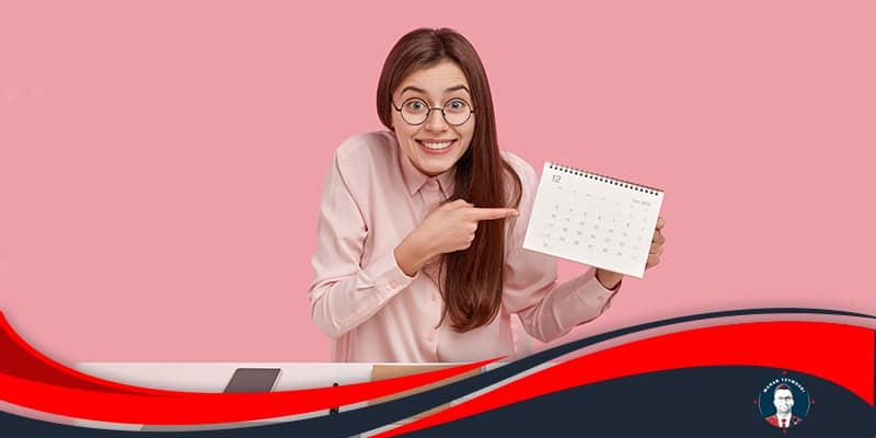 از تقویم آنلاین استفاده کنید