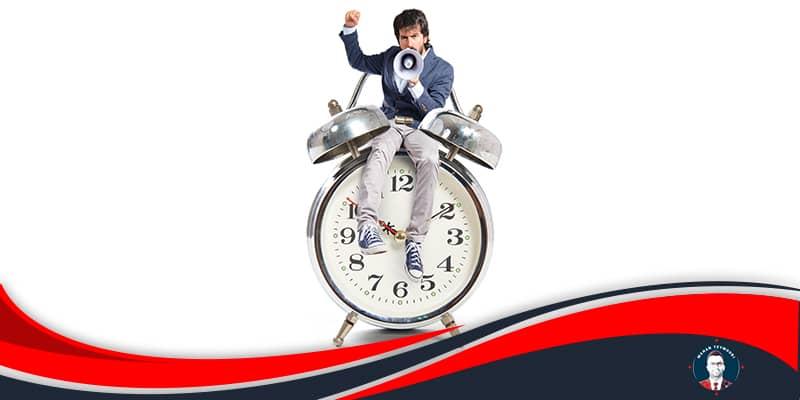 مدیریت زمان کارمندان