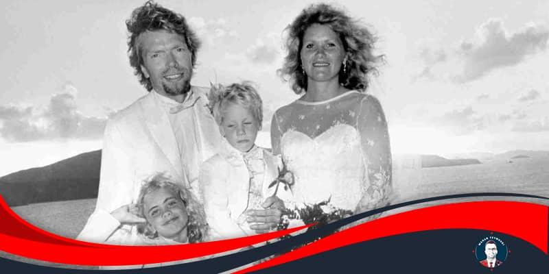 خانواده ریچارد برانسون