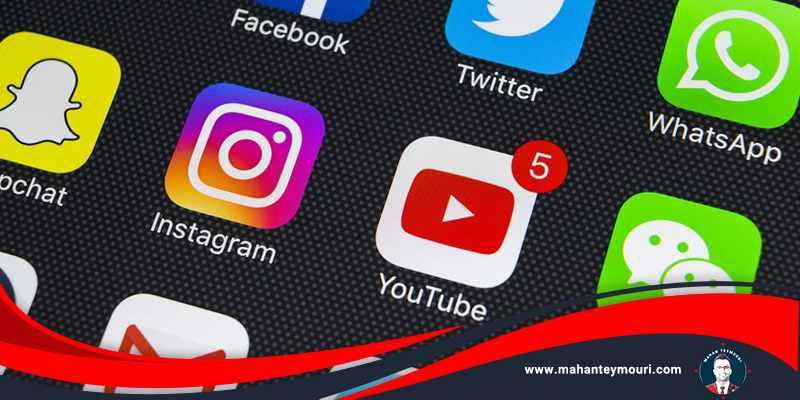 از شبکه های اجتماعی استفاده کنید